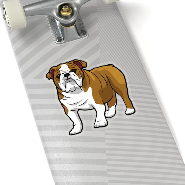 Bulldog Kiss-Cut Stickers