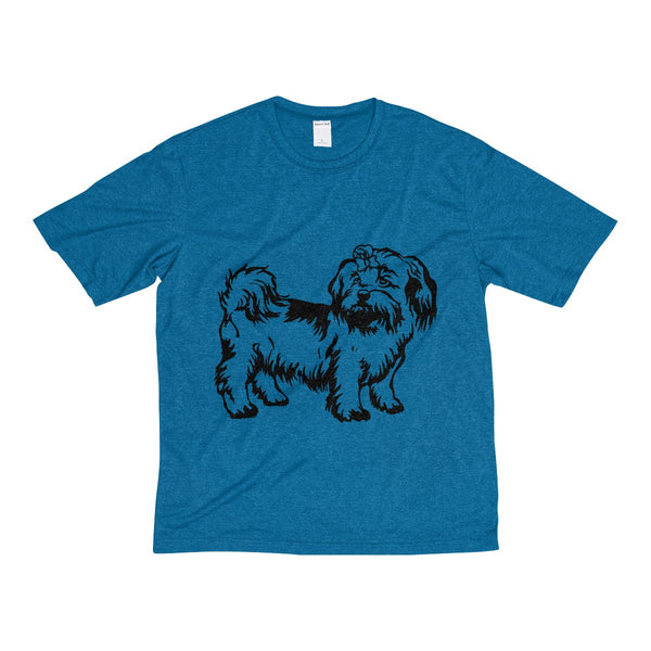 Shih Tzu Men's Heather Dri-Fit Tee
