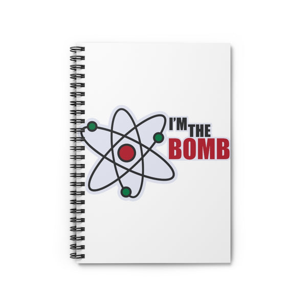 I'm The Bomb, Back to School Spiral Notebook - Ruled Line