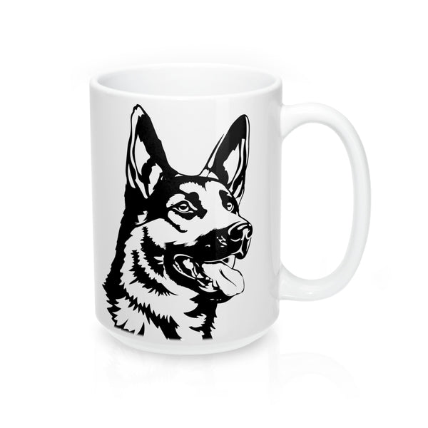 German Shepherd Mug 15oz