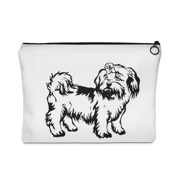 Shih Tzu Carry All Pouch - Flat