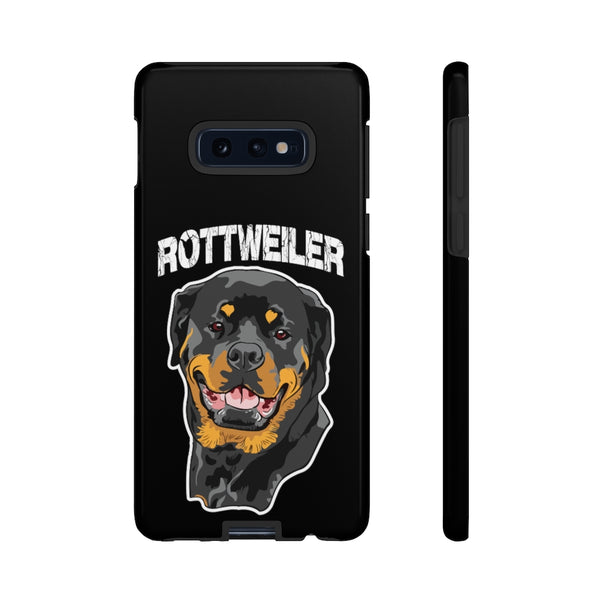 Rottweiler Tough Cell Phone Cases
