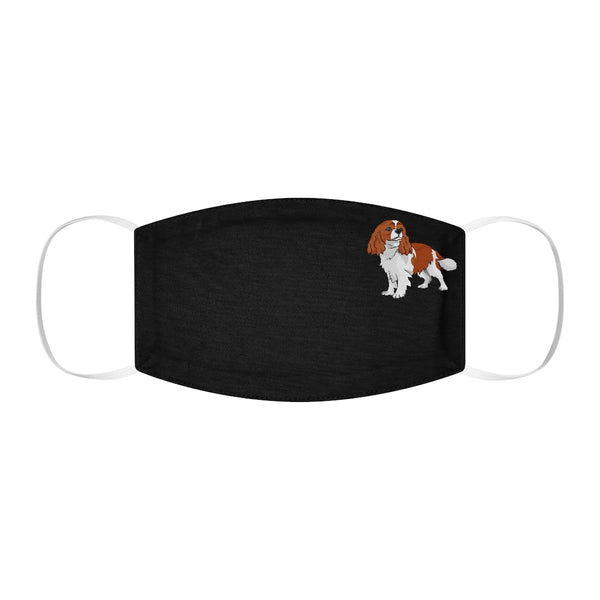 Cavalier King Charles Spaniel Snug-Fit Polyester Face Mask
