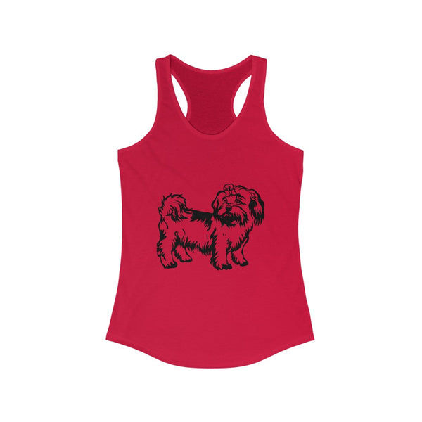 Shih Tzu Women's Ideal Racerback Tank