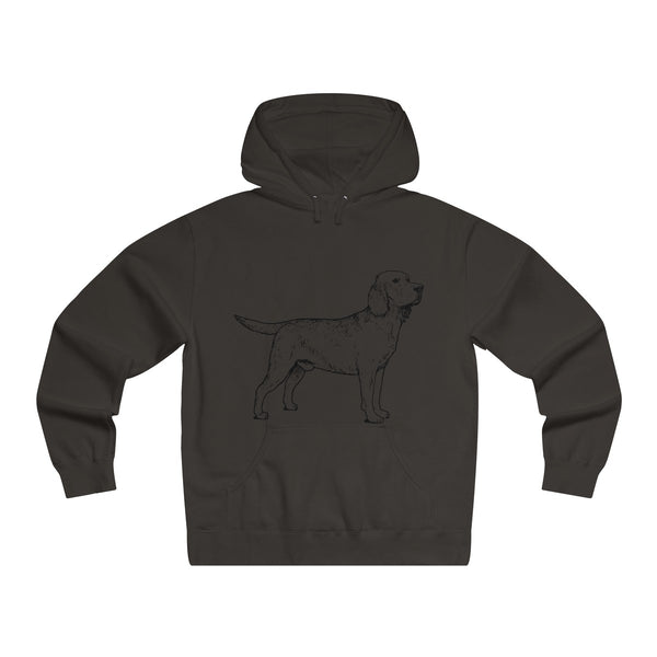 Labrador Retriever Hoodies, Men's Lightweight Pullover Hooded Sweatshirt