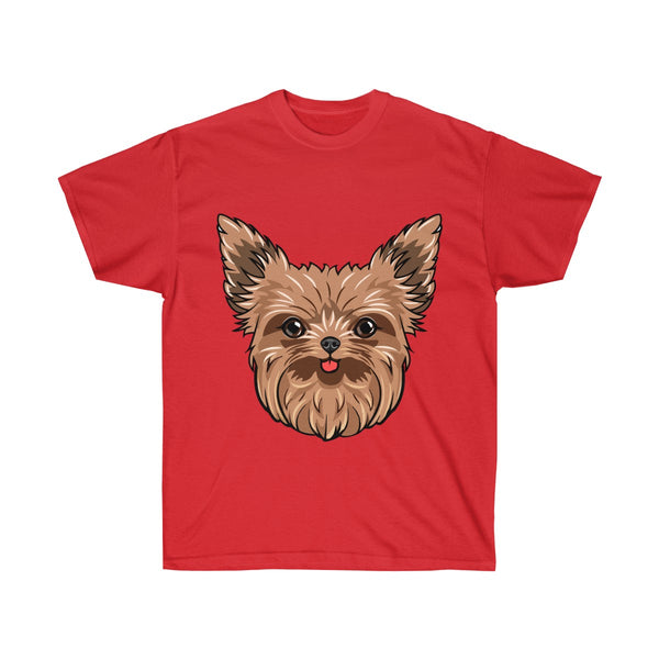 Yorkshire Terrier Unisex Ultra Cotton Tee