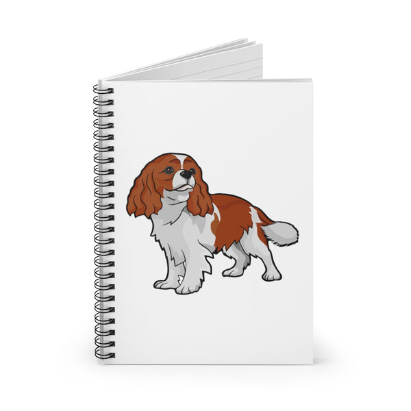 Cavalier King Charles Spaniel Spiral Notebook - Ruled Line