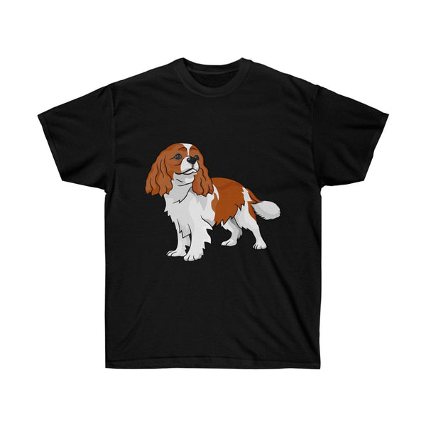 Cavalier King Charles Spaniel Unisex Ultra Cotton Tee
