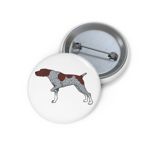 German Shorthaired Pointer Pin Buttons