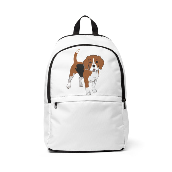 Beagle Unisex Fabric Backpack