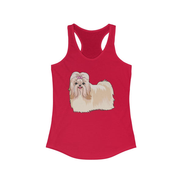 Havanese Women's Ideal Racerback Tank