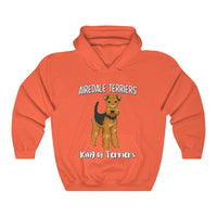 Airedale Terrier Unisex Heavy Blend Hooded Sweatshirt