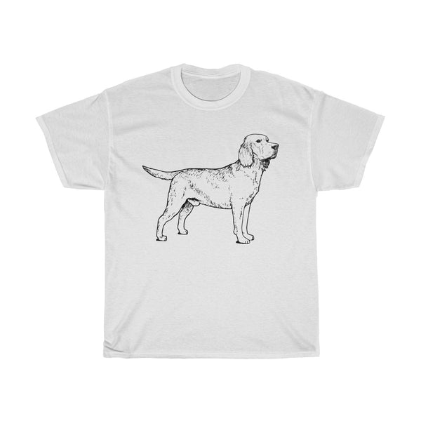 Labrador Retriever Unisex Heavy Cotton Tee
