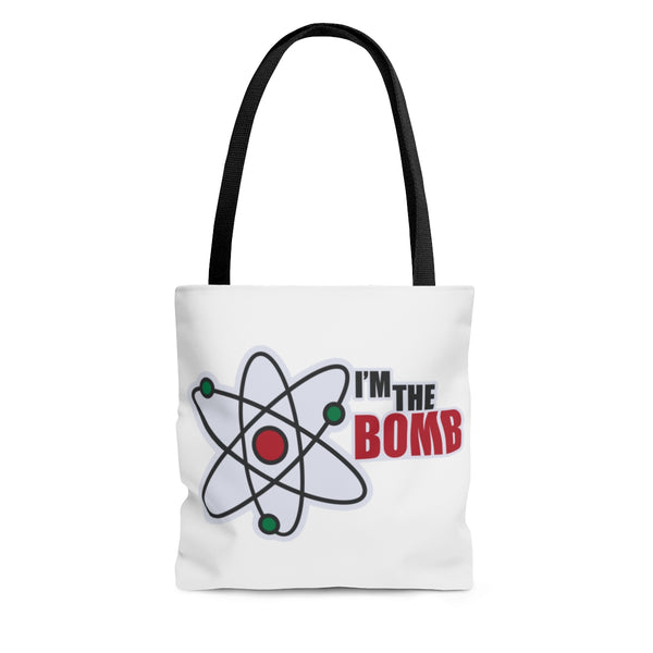 I'm the Bomb, Back to School AOP Tote Bag