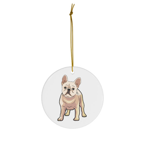 French Bulldog Ceramic Ornaments