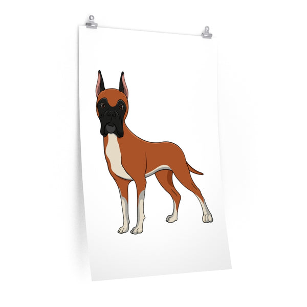 Great Dane Premium Matte vertical posters