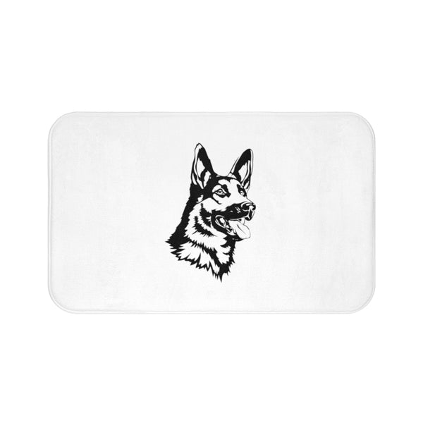 German Shepherd Bath Mat