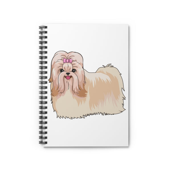Havanese Spiral Notebook - Ruled Line