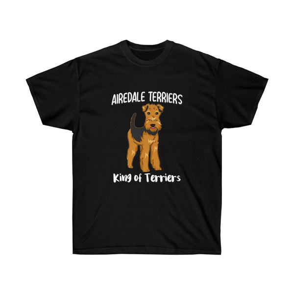 Airedale Terrier Unisex Ultra Cotton Tee