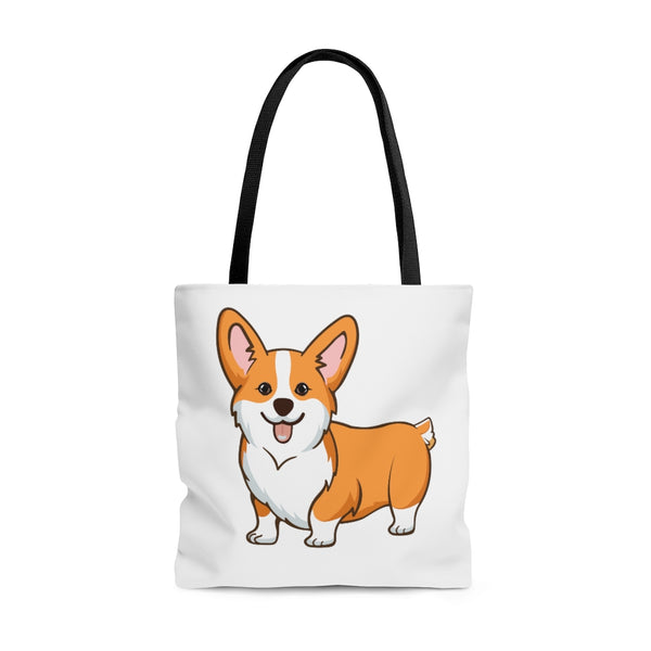 Pembroke Welsh Corgi AOP Tote Bag