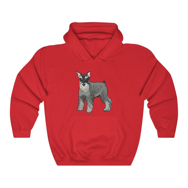 Miniature Schnauzer Unisex Heavy Blend™ Hooded Sweatshirt