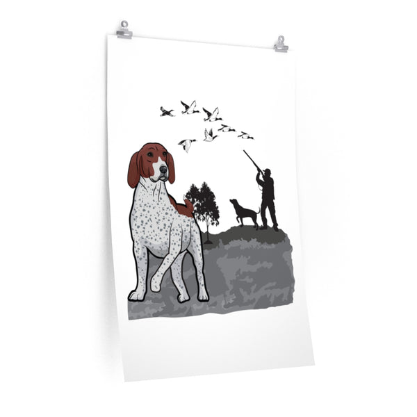 German Shorthaired Pointer Premium Matte vertical posters