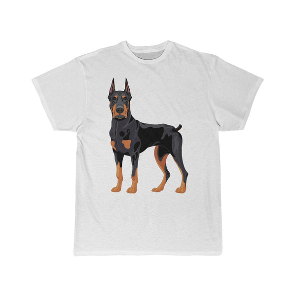 Doberman Pinscher Men's Short Sleeve Tee