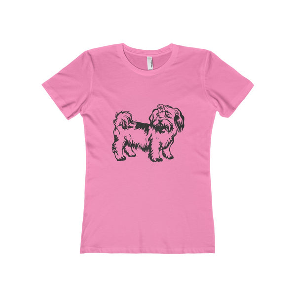 Shih Tzu Women's The Boyfriend Tee