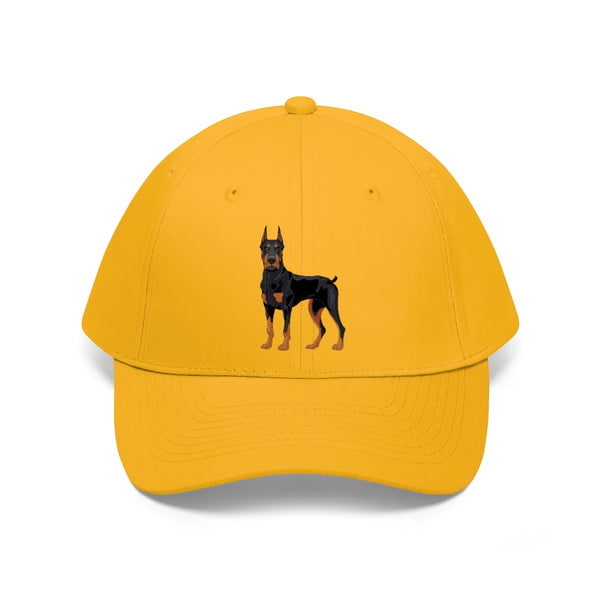 Doberman Pinscher Unisex Twill Hat