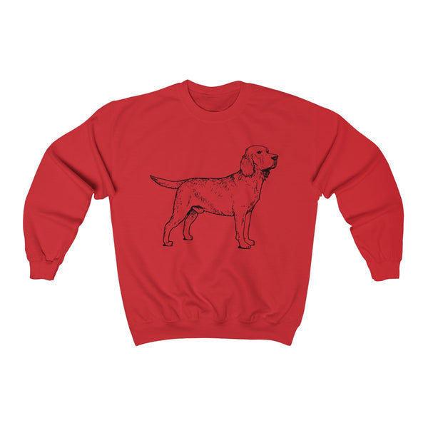 Labrador Retriever Unisex Heavy Blend Crewneck Sweatshirt