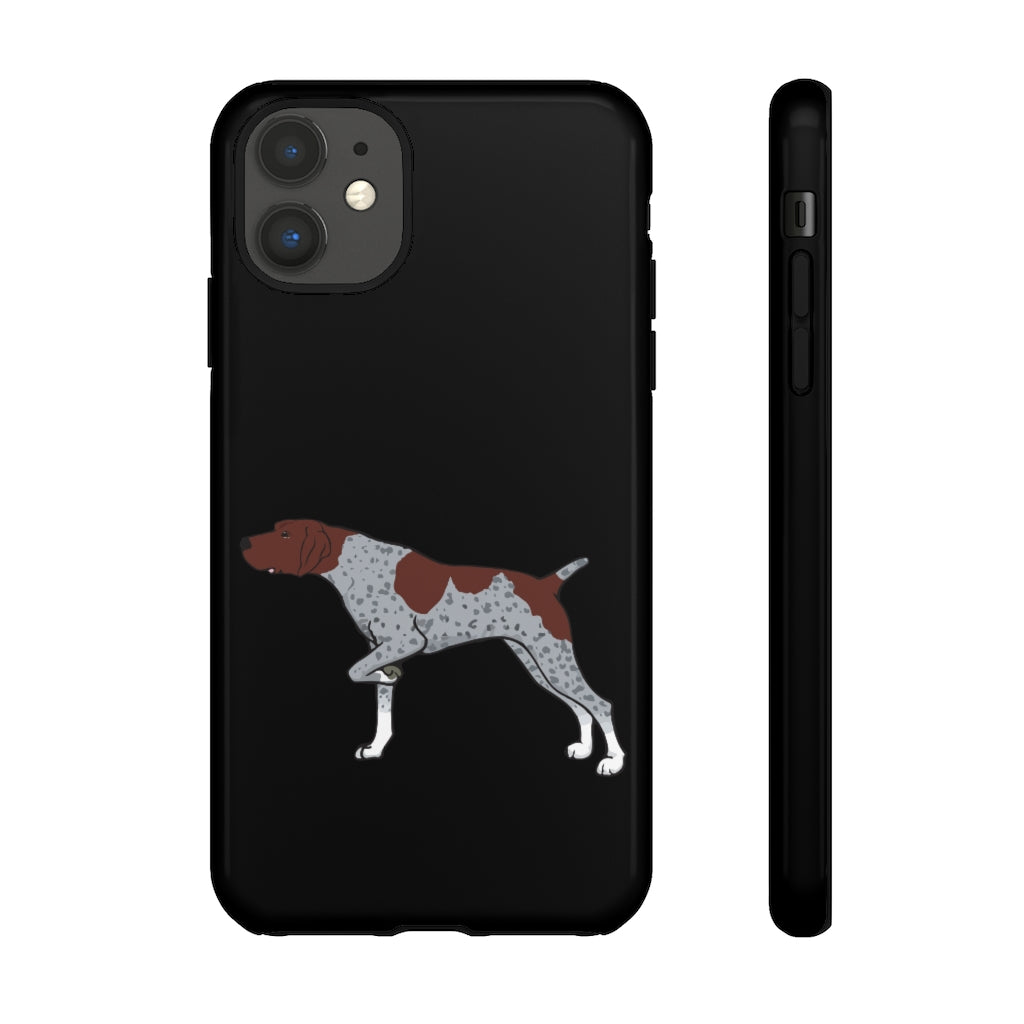 German Shorthaired Pointer Tough Cell Phone Cases
