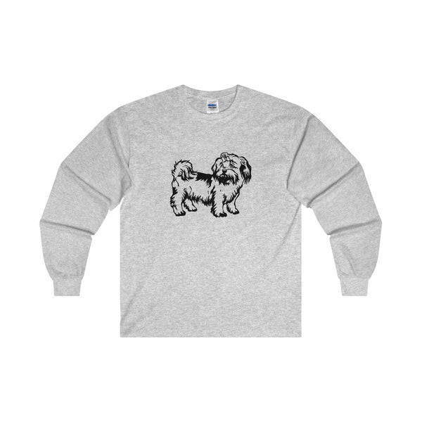 Shih Tzu Ultra Cotton Long Sleeve Tee