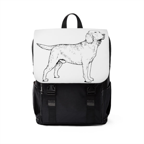 Labrador Retriever Backpack, Unisex Casual Shoulder Backpack