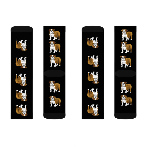 Bulldog Sublimation Socks