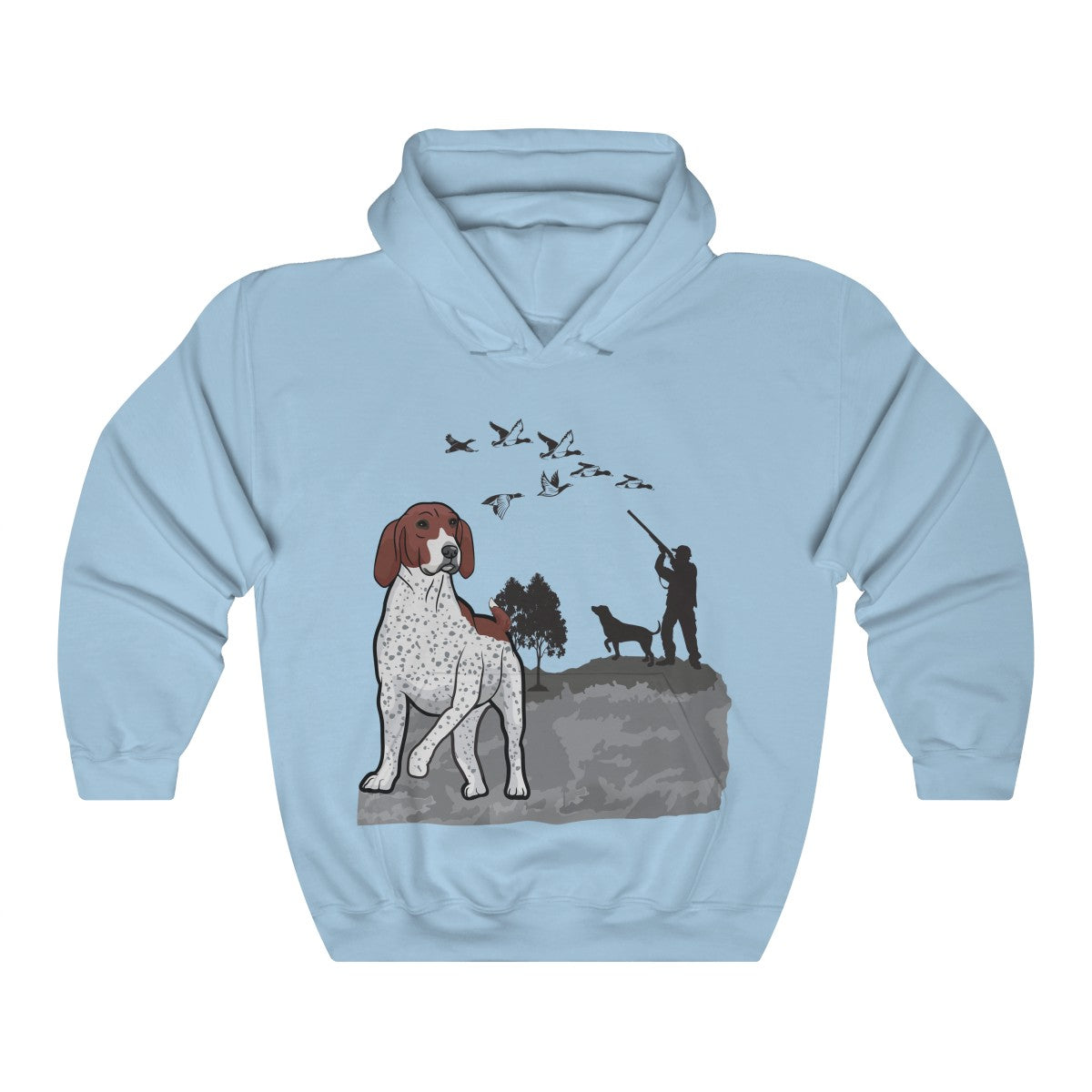 German Shorthaired Pointer Unisex Heavy Blend™ Hooded Sweatshirt