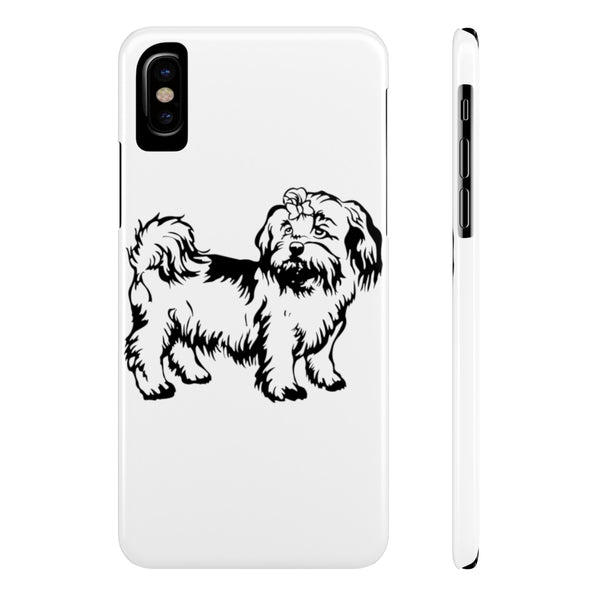 Shih Tzu Case Mate Slim Phone Cases