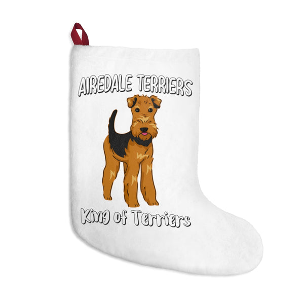 Airedale Terrier Christmas Stockings