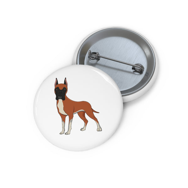 Great Dane Custom Pin Buttons