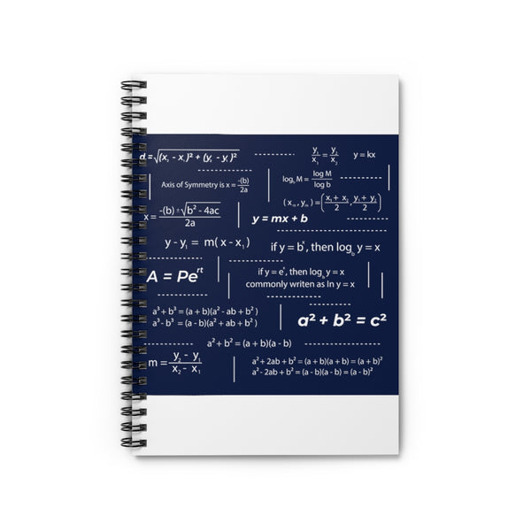 Cheat Sheet, Back to School Spiral Notebook - Ruled Line
