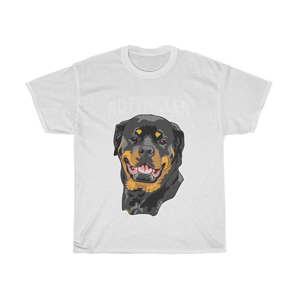 Rottweiler Unisex Heavy Cotton Tee