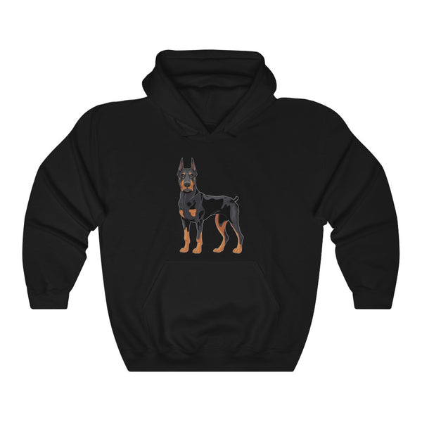 Doberman Pinscher Unisex Heavy Blend™ Hooded Sweatshirt