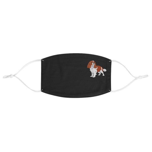 Cavalier King Charles Spaniel Fabric Face Mask