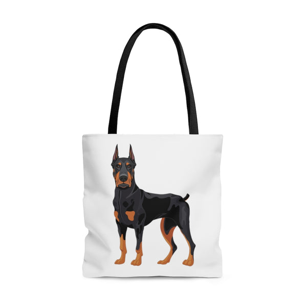 Doberman Pinscher AOP Tote Bag