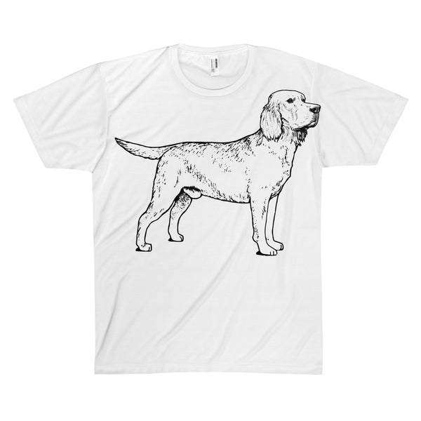Labrador T-Shirt, Unisex AOP Sublimation Tee