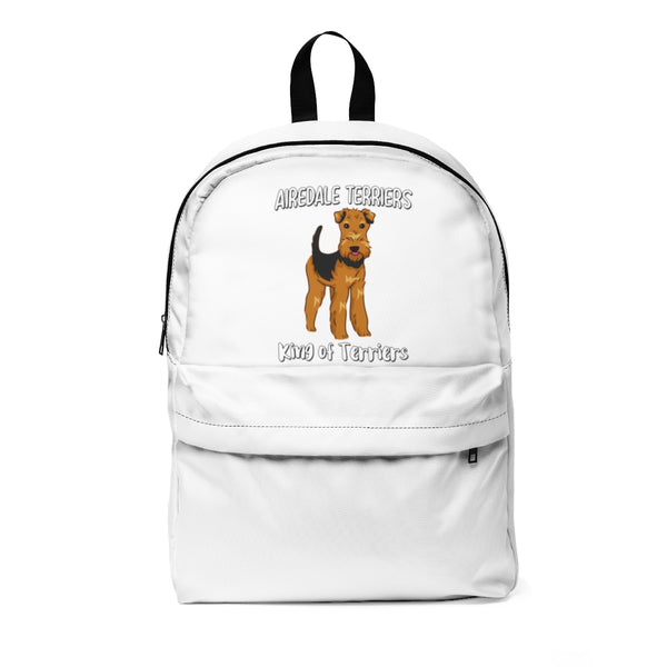 Airedale Terrier Unisex Classic Backpack