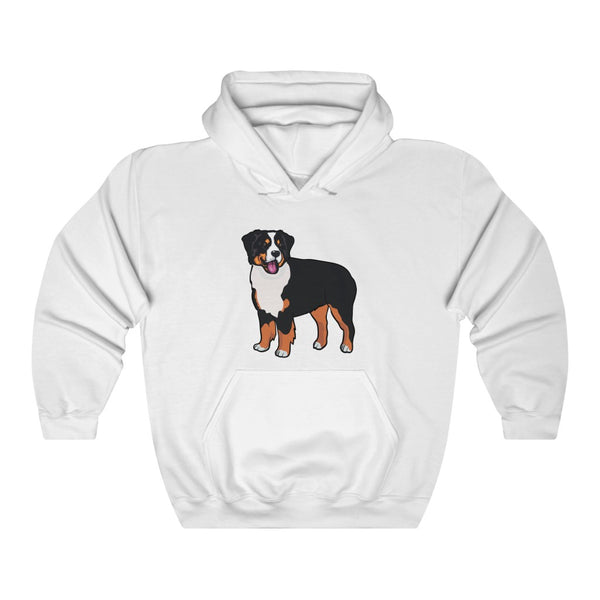 Bernese Mountain Dog Unisex Heavy Blend™ Hooded Sweatshirt