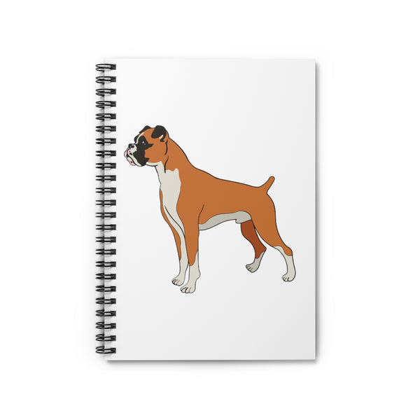 Boxer Spiral Notebook - Ruled Line