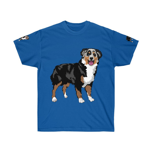Australian Shepherd Unisex Ultra Cotton Tee