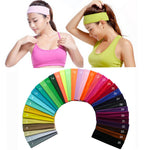 Softball Headband, 2 inch Solid Cotton, Sweatband, Hair Band, Elastic, 31 Variations, FREE Shipping