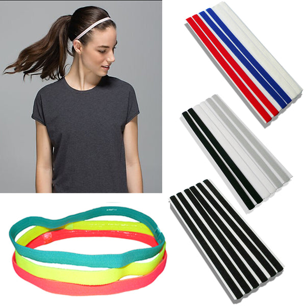 Softball  Elastic Headband, Rubber, Plastic, Silicone, Hair Band, 24 Variations, FREE Shipping